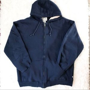 Men's Moose Creek Sherpa-Lined Full Zip Hoodie XLT
